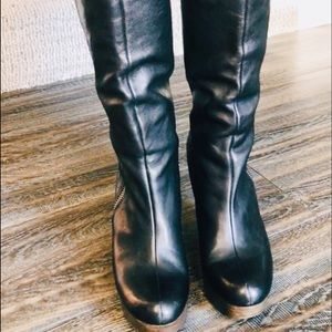 COACH LAVISH VACHETTA Leather Boots Size 11 B